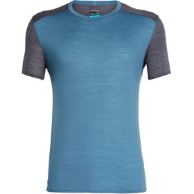 Icebreaker Amplify Running T-shirt Men blue